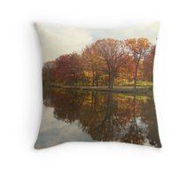 Autumn Tree Line Throw Pillow