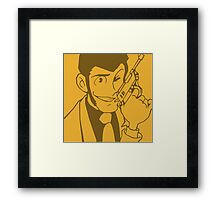 Lupin Third Framed Print