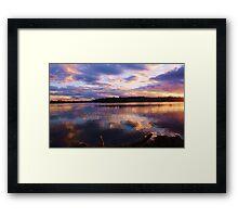 chinderah reflections ... Framed Print