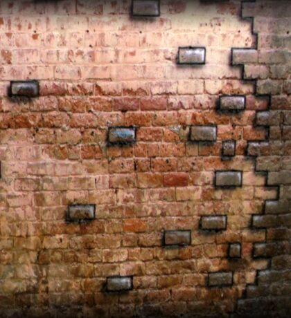 Airbrushed Bricks Sticker