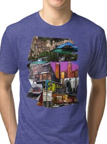 Scenery Collage Tri-blend T-Shirt