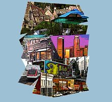 Scenery Collage Unisex T-Shirt