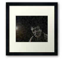 toil and hope Framed Print