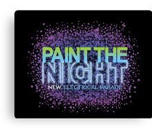 Paint the Night Parade - The New Electrical Parade Canvas Print