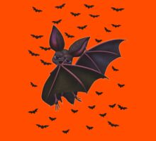 Batty the vampire bat .. tee shirt by LoneAngel