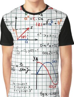 Mathematics Formulas Numbers  Graphic T-Shirt