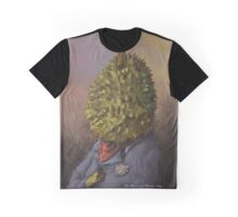 The portrait of Durian Gray Graphic T-Shirt