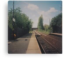 Whiston Station Canvas Print