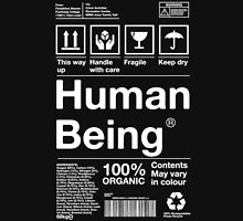Human Being - White Text T-Shirt