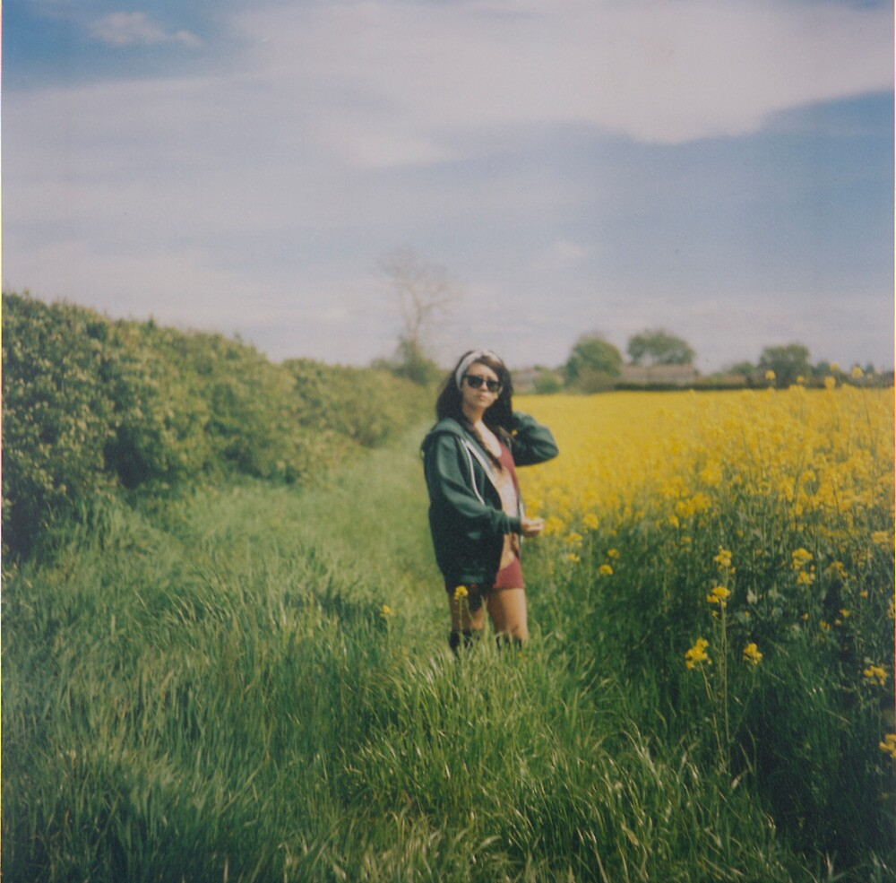 Rapeseed Field Portrait by cavan michaelides