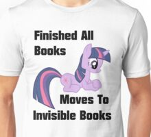 Twilight Sparkle Books T-Shirt Unisex T-Shirt