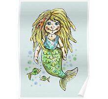 cute mermaid Poster