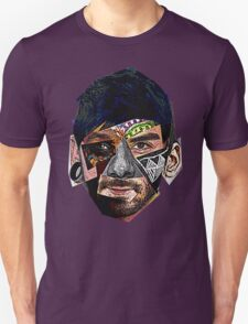 Male Face Fragments T-Shirt