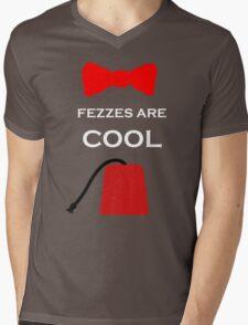 i wear a fez now Mens V-Neck T-Shirt