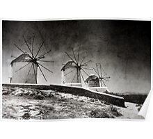 The windmills of Mykonos 2 Poster
