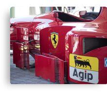 Ferrari 412 T2 Canvas Print