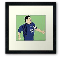Maradona World Cup '94 Framed Print