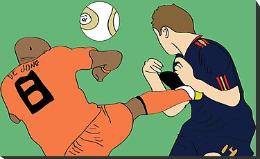 De Jong Final Kick by James McDaid
