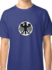 Retro German Football Badge Classic T-Shirt