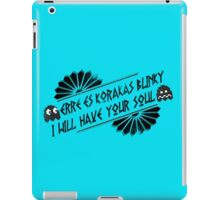 BLiNkY bLaCk iPad Case/Skin