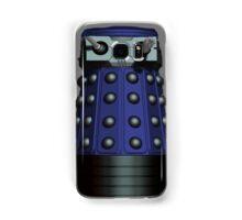 Doctor Who Inspired: Dalek Iphone case - Blue Samsung Galaxy Case/Skin