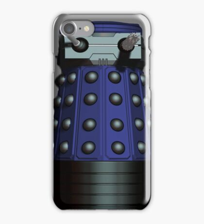 Doctor Who Inspired: Dalek Iphone case - Blue iPhone Case/Skin