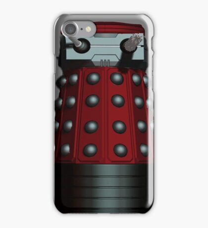 Doctor Who Inspired: Dalek Iphone case - Red iPhone Case/Skin