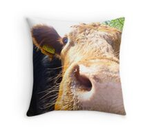 Everybody loves a Red Head....?? Throw Pillow