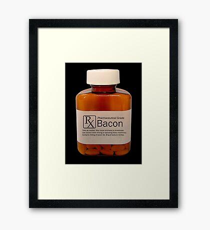 Pharmaceutical Bacon Framed Print