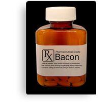 Pharmaceutical Bacon Canvas Print