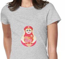 Angelic Babushka Womens Fitted T-Shirt