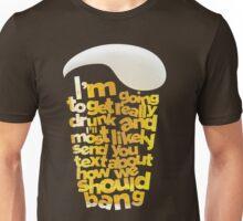 """Drunk Text """"HANGOVER"""" Unisex T-Shirt"""