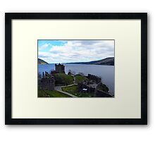 Loch Ness from Urquhart Castle Framed Print