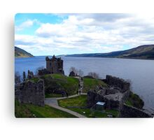 Loch Ness from Urquhart Castle Canvas Print