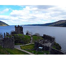 Loch Ness from Urquhart Castle Photographic Print