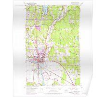 USGS Topo Map Washington State WA Snohomish 243822 1953 24000 Poster