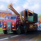 ERF low-loader by Mike Jeffries