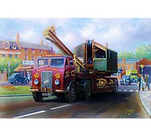 ERF low-loader Photographic Print