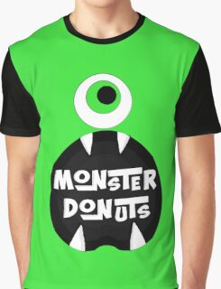 Monster Donut Graphic T-Shirt
