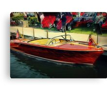 Chris Craft Canvas Print