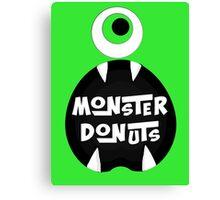 Monster Donut Canvas Print