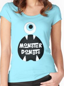 Monster Donut Women's Fitted Scoop T-Shirt