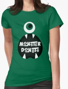 Monster Donut Womens Fitted T-Shirt