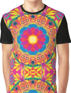 Smiling Colours Graphic T-Shirt