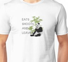 Eats, Shoots and Leaves Unisex T-Shirt