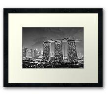 Marina Bay Sands - Singapore Framed Print
