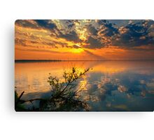 Cloud and River Canvas Print
