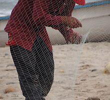In The Fishing Net - En La Red by Bernhard Matejka