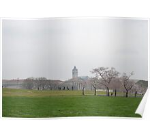 Cherry Blossoms at the National Mall Poster