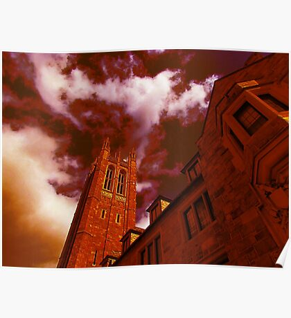 Red Gothic Poster